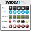 Sysdev crea conjuntos de iconos para aplicaciones Windows y Android