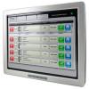 """Solución HDBaseT: monitor táctil de 15"""" con extensor y módulo Rx"""