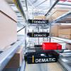 Dematic presenta un nuevo sistema automatizado de almacenamiento y secuenciación de contenedores y cajas