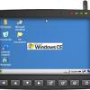 """Terminal de datos móviles con pantalla táctil de 7"""" y módulos GPS y GSM/GPRS"""