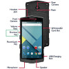 TurboFon E3, PDA industrial con pantalla táctil multi-touch