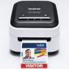 Brother lanza la nueva impresora de etiquetas a color VC-500W