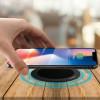 Cargador inalámbrico de dispositivos móviles Qi