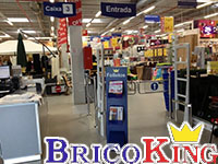 Bricoking cambia de tecnolog a para proteger sus tiendas - Estanterias bricoking ...