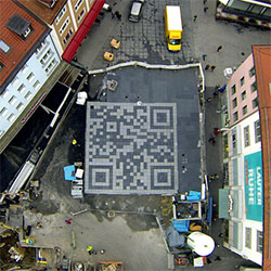 QR-Code Wurzburg