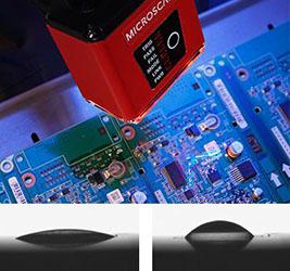 Microscan - Liquid lens autofocus - MicroHAWK