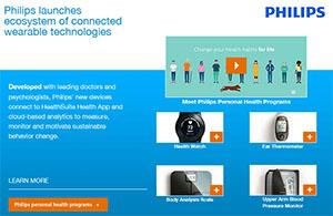 Philips - Wearable Technologies
