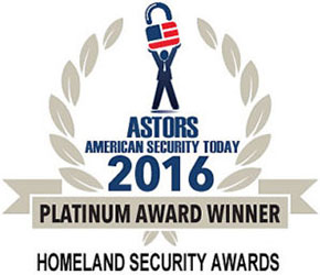 Identiv - ASTORS Homeland Security Award