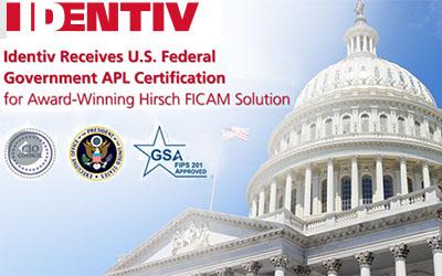 Identiv - US Federal Gov. APL Certification