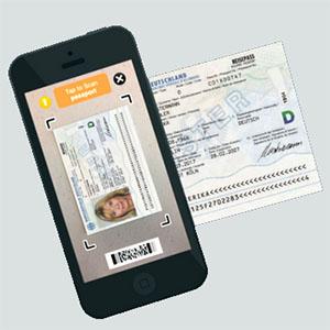 IDScan - Panasonic - Handheld Passport Scanner