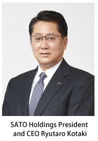 SATO - CEO Ryutaro Kotaki