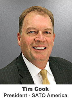 SATO - Tim Cook - President of SATO America